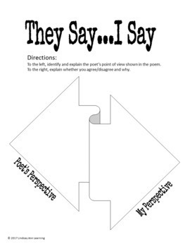 FREE Poetry Analysis Graphic Organizers by Lindsay Ann
