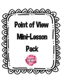 Voices In The Park Point Of View Worksheets & Teaching