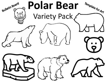 Polar Bear Coloring Page Worksheets Teaching Resources Tpt
