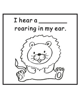Polar Bear What Do You Hear? by Eric Carle Sequencing