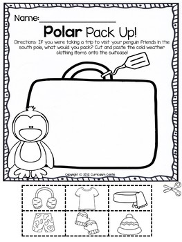 Polar Bears and Penguins: A Polar Region Thematic Unit! by