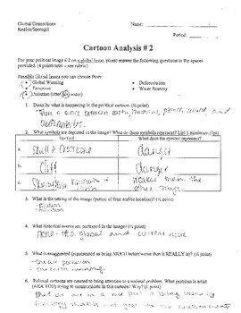political cartoon analysis worksheet answers. Black Bedroom Furniture Sets. Home Design Ideas