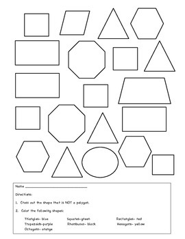 Polygon Man: A Geometry and Fraction Project by If You