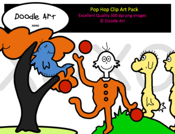 Pop Hop Clip Art Pack by Clipart For Teachers Teachers