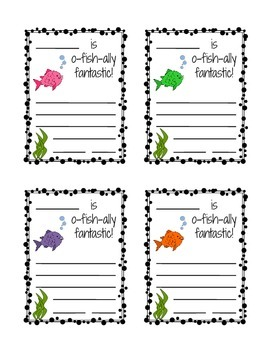 Positive Praise Cards for Students by The Kindergarten