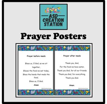prayer posters morning evening