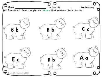 Pre-K /Kindergarten Morning/Homework Packet Common Core