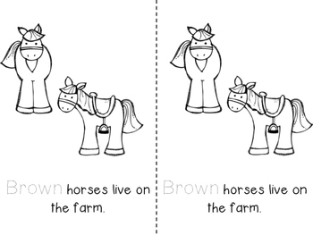 Pre-K and Kindergarten On the Farm Activities by Fun in