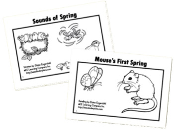 Pre-Kindergarten Spring Literacy and Math Lesson Plans by