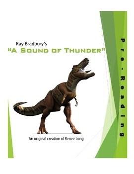 A Sound Of Thunder Plot Diagram : sound, thunder, diagram, Sound, Thunder, Worksheets, Teaching, Resources