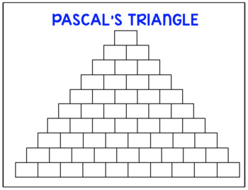 PreCalculus Binomial Theorem and Pascal's Triangle Task