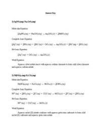 Solubility Reactions Worksheet - Kidz Activities