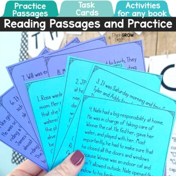 Making Predictions Activities and Task Cards by Think Grow