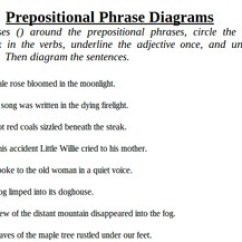 Diagram Prepositional Phrases Teeth Layout Phrase Pack Identify Review And Test Tpt