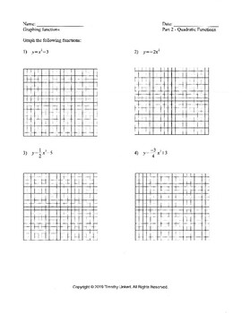 Prerequisites for Pre-Calculus Graphing Functions by