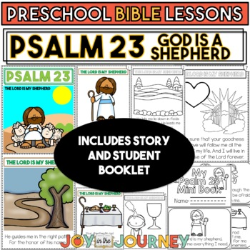 Preschool Bible Lessons: Psalm 23 by Joy in the Journey by