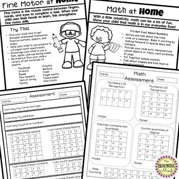 Preschool Classroom Management Resources by The Blooming