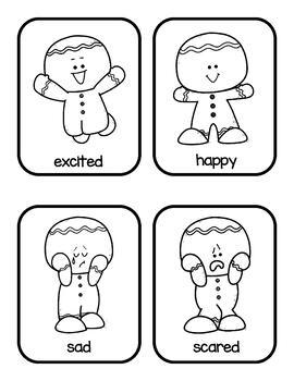 Preschool Emotions--Gingerbread Men by Preschool in