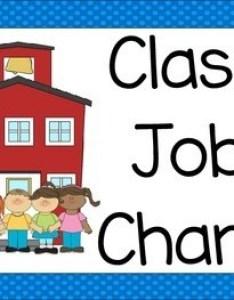 Editable job chart also by oh miss jill teachers pay rh teacherspayteachers