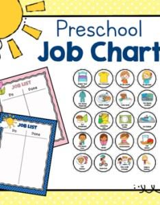 also preschool job chart by simply schoolgirl teachers pay rh teacherspayteachers