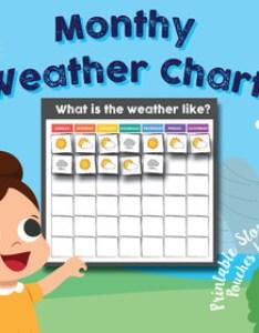 also preschool kindergarten daily weather chart monthly math rh teacherspayteachers