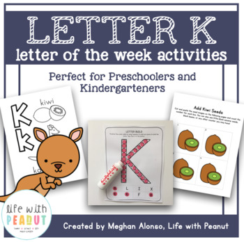 Catherine holecko is an experienced freelance writer and editor who specializes in pregnanc. Preschool Letter Of The Week Letter K Activities By Life With Peanut