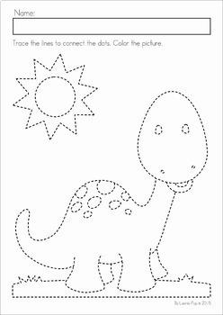 Preschool No Prep Worksheets and Activities MEGA BUNDLE by