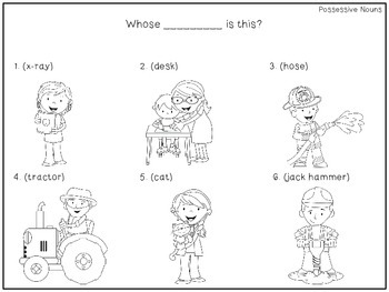 Preschool Print and Go Activities for Speech and Language