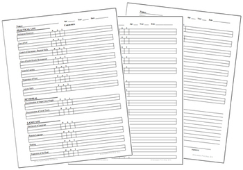 Primary Montessori Parent-Teacher Conference Form by