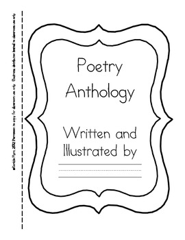 Primary Poetry Writing Paper for Writer's Workshop by