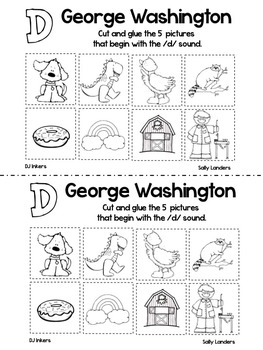 Print & Go Pack! GEORGE WASHINGTON VISITS {3.3 Scott