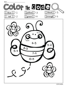 Print and Go! BUNDLE: Spring Math and Literacy (NO PREP