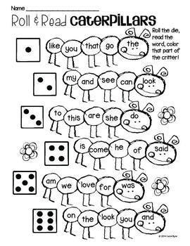 Print and Go! Spring Garden Math and Literacy (NO PREP) by