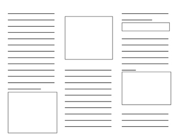 Printable Brochure Template by One Classroom Many Cultures