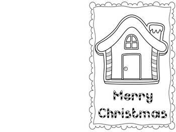 Printable Christmas Cards {Freebie} by Teachable Moments