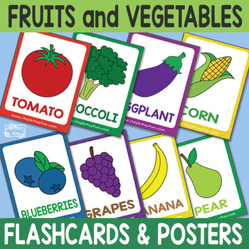 fruit and vegetable poster worksheets