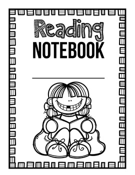 Printable Student Notebook Covers Color and Black & White
