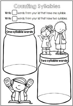 Word Work Printables for any Word List by Clever Classroom