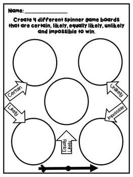 Probability Activity Worksheets (dice, colored tiles, coin