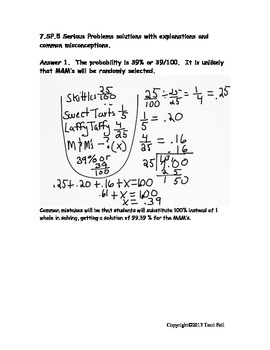 Probability of chance event word problems fractions