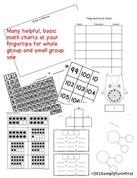 Problem Solving Math Mats and Resources for K-2 by Simply