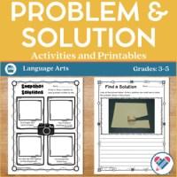Problem Solution Worksheets For Kindergarten. Problem ...