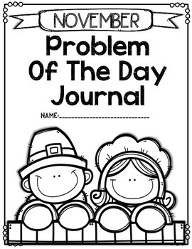 Problem of the Day-NOVEMBER (daily math word problem