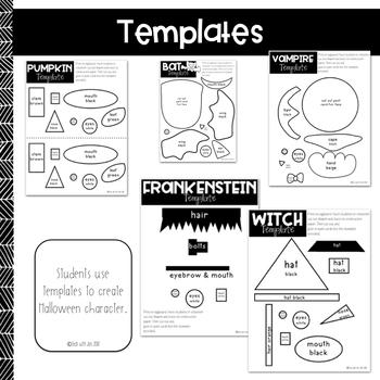 Halloween Craftivities: Procedural Text & Writing Unit by