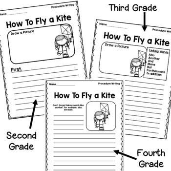 Procedure Writing Prompt/Worksheet FREEBIE by Terrific