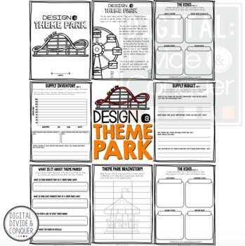 Project Based Learning Activity: Design A Theme Park (PBL