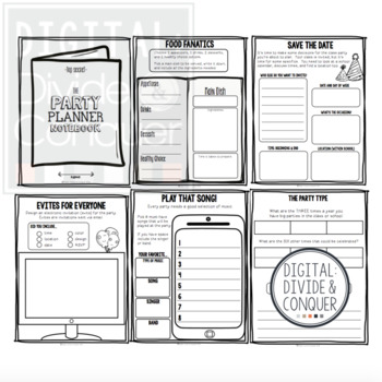 Project Based Learning Activity: Plan A School Party (PBL