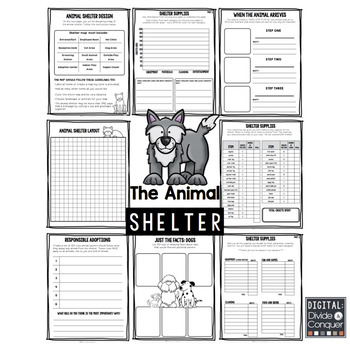 Project Based Learning Activity: Run An Animal Shelter