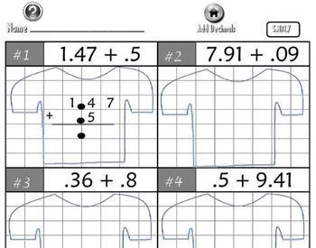 Promethean Flipchart: Add, Subtract, Multiply, Divide