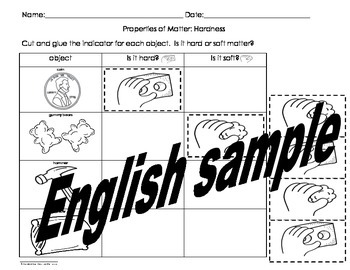 Properties of Matter Activities Pack English only by ABC